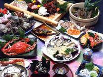 海の幸いっぱい<お食事一例>