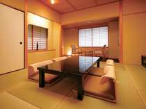 落ち着きのある8帖タイプの和室(イメージ)