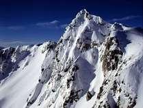 氷雪の宝剣岳