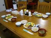 朝食は玉子料理がメインです♪