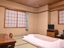 *【客室一例】広さ 6~9畳和室のお部屋をご用意いたします。
