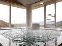 展望風呂でゆったり温泉を満喫♪