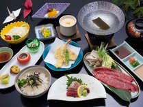 季節のミニ海鮮丼や淡路牛のしゃぶしゃぶなど淡路島の恵みがたくさん。