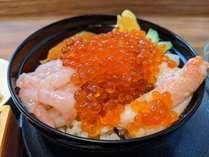 【豪快海鮮丼】いくら・ホタテ・ズワイ蟹・甘エビ・サーモン・ネギトロ 6種類