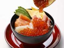 【朝食】ご当地逸品料理「海鮮盛丼」