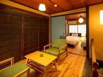 京都「二条城」徒歩5分。「京都御所」徒歩圏内。和モダンな町家。最大4名。自炊に最適なキッチン。