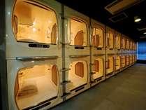 【カプセルルーム】エアコン&空気清浄機完備!ごゆっくりお寛ぎ下さい♪