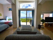 客室からも海を見ることが出来ます。