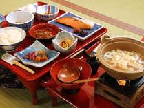 ■【朝食】あきたこまちを美味しく食べる朝食