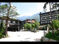 歴史のある、名湯平湯温泉に佇む浪漫溢れる癒しの宿 外観