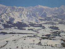ゲレンデ0分スキーボードプラン