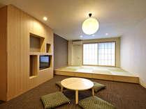 36㎡~の広々とした和室。ファミリー、ご友人同士に大人気のお部屋です。