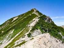 *【周辺観光_唐松岳】北アルプスの入門の山として多くの人達に親しまれています。