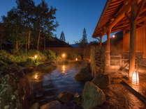 四季折々の自然の中で自家源泉かけ流しの湯で手足を伸ばしてごゆっくりおくつろぎください。
