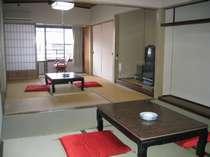 和室12畳部屋(6畳+6畳にも出来ます)