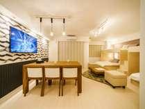 【禁煙】4ベッド(セミダブル)★ダイニング&対面キッチン付★<52.39平米>