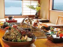 【いろり焼き】個室でゆっくりお食事をお召し上がりください♪伊勢海老も焼き物で!(写真はイメージです)