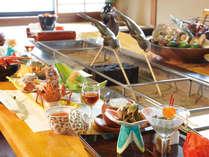 【いろり焼き】大勢で楽しく掘りごたつを囲んでお食事をお愉しみください♪(写真はイメージです)