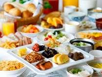 【朝食】和洋バイキングをお召し上がりください♪朝の定番も取り揃えております☆(写真はイメージです)