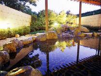 【露天風呂】三重県津市からの運び湯、長寿の湯!和風庭園を眺めながらお寛ぎ下さい♪