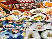 【ご夕食】ご夕食は和食会席・フレンチ・バイキングの3種類から♪