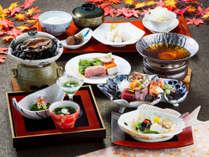 【和会席】鮑やお造り、鍋などを愉しめる和食会席♪(2017年秋スタンダード)(写真はイメージです)