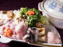 【ふぐ鍋会席】先附から〆の雑炊まで冬の味覚・ふぐ尽くしのふぐ鍋会席!※写真はイメージです。