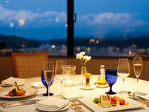 【レストラン】最上階レストランにてフレンチコースをお楽しみいただけます♪(写真はイメージです)