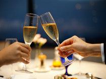 【レストラン】フレンチコースとワインで乾杯♪(写真はイメージです)