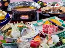 【和会席】鮑やお造り、鍋などを愉しめる和食会席♪(2018年春スタンダード)(写真はイメージです)