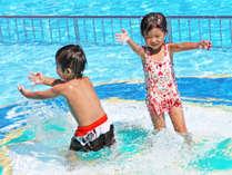 【ガーデンプール】お子様にも人気のガーデンプール♪夏はやっぱりプールで満喫!※有料