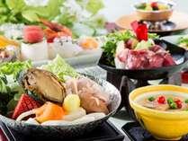 【和会席】鮑やお造り、鍋などを愉しめる和食会席♪(2018年夏スタンダード)(写真はイメージです)