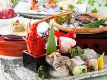 【和会席】鮑やお造り、鍋などを愉しめる和食会席♪(2018年夏ランクアップ)(写真はイメージです)