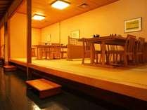 【潮騒】小上がりにある落ち着いた空間で、和食会席をお楽しみいただけます。※画像はイメージです。