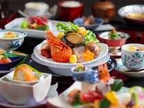 【和会席】鮑やお造り、鍋などを愉しめる和食会席♪(2018年冬スタンダード)(写真はイメージです)