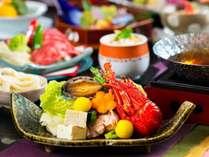 【和会席】鮑やお造り、鍋などを愉しめる和食会席♪(2019年春スタンダード)(写真はイメージです)