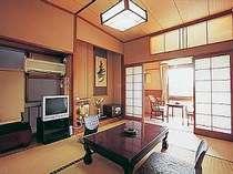 一室2名様ご利用の場合の客室例。