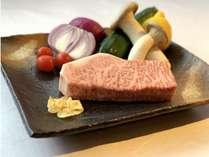 【美食の黒毛和牛~花~】当館、離れで召し上がる極上ステーキコース~1泊2食付~