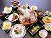 【3日前まで予約可能!お皿が透けて見えるほど透明なイカ♪】当館人気NO1☆活きイカと季節の会席プラン