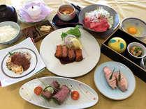 【肉会席・秋】和牛ビーフカツレツ・和牛すき焼き