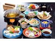 仙崎の海会席 たこしゃぶの食感と甘味、絶妙な歯ごたえにうっとり♪~