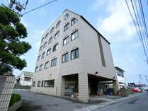 ホテルトレンド西条外観JR壬生川駅より徒歩9分