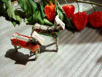 お盆はログハウスで茨城グルメを楽しんで♪(画像はイメージです。)