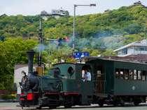 松山城と、坊ちゃん列車です♪♪