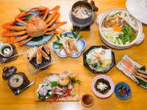 9月中旬~5月末まで★大人気『カニづくし』プラン!旬の味をご堪能あれ!