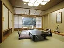 『花見亭』客室イメージ 渓谷眺め (10畳間+広縁付き)(禁煙)