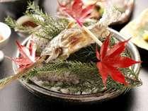 【秋彩御膳】岩魚イメージ