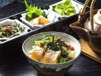 【夏】夕食:お茶漬け