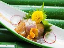 【夏】夕食別注料理:漬け岩魚