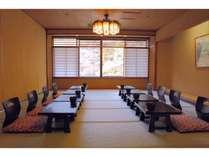 【お食事処】個室会場は用途や人数人あわせさまざまなタイプがあり